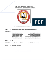 Informe de laboratorio Nº01