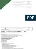 Evaluación de Competencias Laborales Para Asesor de Ventas
