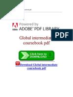 Global Intermediate Coursebook PDF