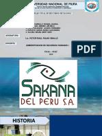 SAKANA DEL PERU S.A