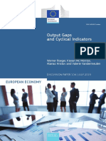 Output Gaps and Cyclical Indicators 2019