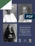 Envejecimiento demográfico en México