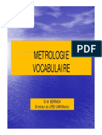 03 Vocabulaire Metrologique