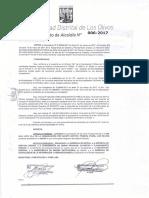 Da 006 2017 Aprobar La Numeración de Las Vias Correspondientes a La Mz Gg 5 Lt 30 A