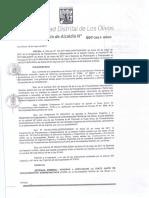 Da 007 2017 Aprobar La Adecuacion Del Texto Unico de Procedimientos Administrativos Tupa