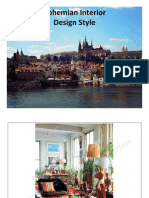 Reference Document Bohemian Interior Design