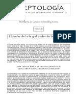 Aceptología La Nueva Ciencia Que Te Libera Del Sufrimiento. Manual de Gerardo Schmedling Torres Tema 8_ El Poder de La Fe y El Poder de La Aceptación - PDF