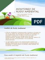 Monitoreo de Ruido Ambiental