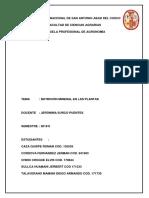 Nutrición Mineral Monografia