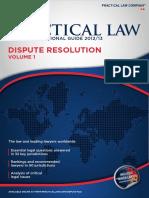 Practical Law Multi Jurisdictional Guide 2012 13