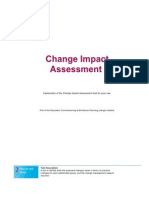 Step 2.2 Change Impact Assessment