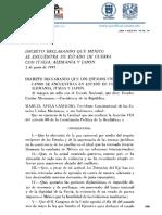 Decreto de Estado de Guerra 2 Junio de 1942