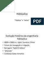 Hidráulica - Unidade 1 (Introdução)