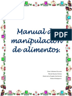 MANUAL DE MANIPULACION DE LAIMENTO