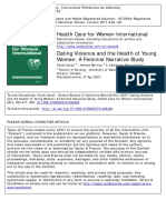 2007 Dating Violence and the Health of Young Women