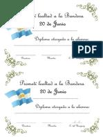 Bandera Diploma