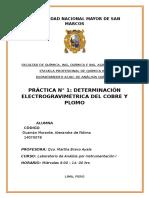 Informe 1 - Electrogravimetria - A. Instru i A