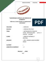 Instrumentos Públicos Extra Protocolares Las Actas y Certificaciones