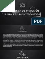 PROPUESTA DE INDUCCIONES - UNITECNAR