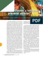 Fernandez Alicia 2009 Entre Fracasos y Exitismos Promover Autorias