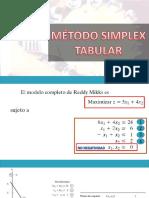 Ejemplo Método Simplex