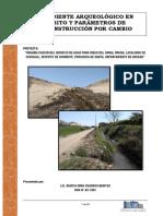 Expediente Arqueológico Canal Psi