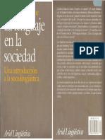 Romaine - El Lenguaje en La Sociedad