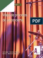Mapa de procesos de un concierto