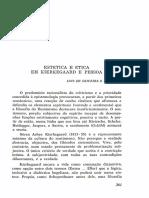 Estética e Ética em K.