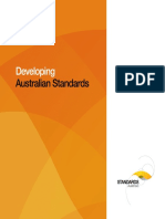 Developing Australian Standards