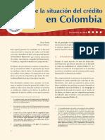 Reporte a Diciembre 2018 Economia en Colombia