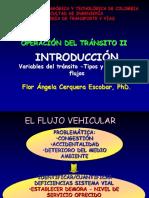 1. Introducción. Variables Del Tránsito_IISem2019_Operación_II