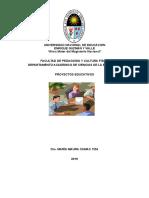 Texto Auto Instructivo de Proyectos Educativos