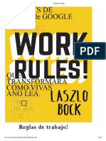 La nueva formula de trabajo - Laszlo Bock