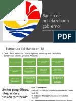 Hugo Gutierrez Bando de Policía y Buen Gobierno