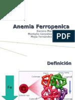 Anemia Ferropenica y as