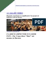 Clarice Lispector - Clarice Lispector e o Amor Fati - Site A Casa de Vidro.docx