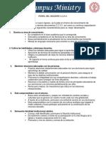 Perfil Del Docente CCVI