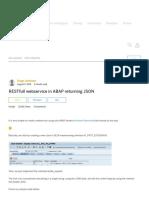 IMP - RESTfull Webservice in ABAP Returning JSON _ SAP Blogs