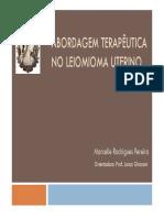Abordagem Teraputica No Leiomioma Uterino