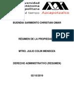 Derecho Administrativo (Resumen)