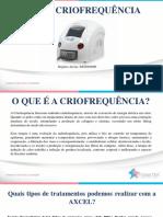 Axcel Criofrequencia