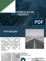 Slide Recuperação de Crédito