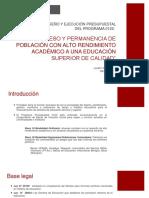 EVALUACIÓN DE DISEÑO Y EJECUCIÓN PRESUPUESTAL DEL PROGRAMA 0122