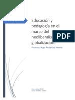 educacion desde el neoliberalismo