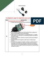Manual Gps ST907 Relay Español