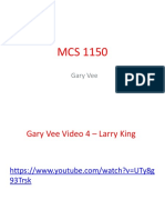 mcs 1150 video comprehension gary vee 4