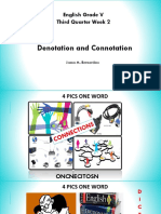 PPT COT Connotation and Denotation