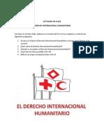 Actividad sobre el derecho internacional humanitario