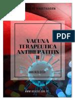 Vacuna Terapeutica Antihepatitis b